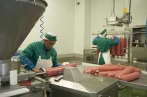 halal production line in Caula