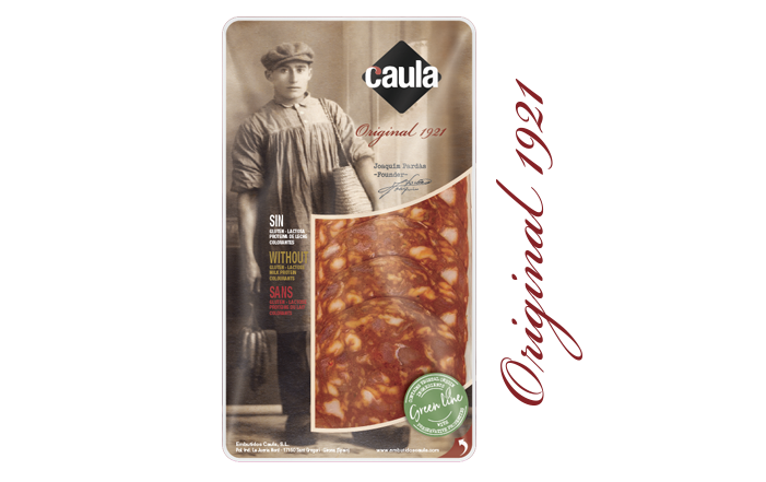 Caula chorizo clean label original 1921